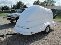 sell new used trailers 4x10 5 toy hauler motorcycle trailer at trailerper