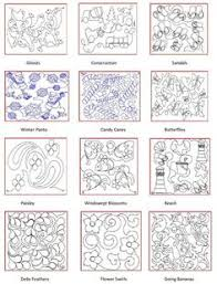 Image result for free motion quilting patterns for beginners ... & Image result for free motion quilting patterns for beginners | Quilting |  Pinterest | Quilt border, Quilting and Quilt Adamdwight.com