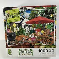 Compete for the daily high score, or just relax and have fun. Hidden Object Puzzle Patio 1000 Pc Ceaco Dream Day First Home 27 X 20 For Sale Online