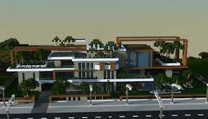 Big modern houses Modern Mansion Large Modern House Minecraft Schematics Large Modern House Creation 6605