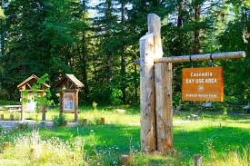 Interpretive Signs In The Cascadia Day Use Area The Cascad