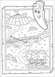 Small Picture Dora and map coloring pages 5 pictures Dora123COMGames