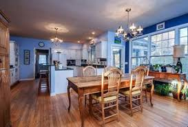 flooring for dining room. country dining room with sunset selections allenridge comfort back side chair, chandelier, hardwood floors flooring for n
