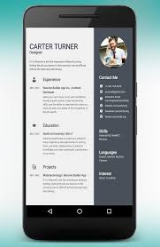 Resume Builder App Classy Resume Builder And CV Maker App 282828pro APK Download Android