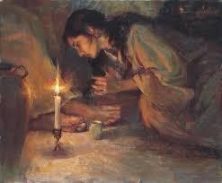 Resultado de imagem para mulher deitada nos pés de jesus