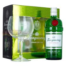 tanqueray export strength gin copa gl pack 70cl gift pack