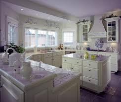Kitchen Countertop Tile 41 White Kitchen Interior Design Decor Ideas Pictures