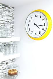 wall clocks ikea clocks interesting clocks wall wall clocks yellow and white clock wall glass large