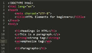 HTML For Beginner : Code Editors, Headings & Paragraphs