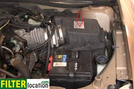 How to change the air filter on Chevy Malibu 1997-2003