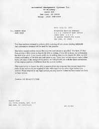 Federal Collection Letter