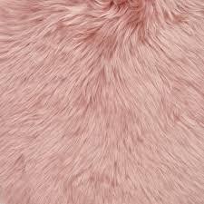 natures collection new zealand sheepskin rug rosa