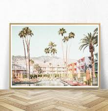 palm springs digital printable