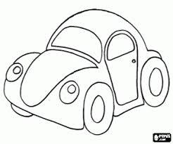 Kleurplaten Auto Kleurplaat