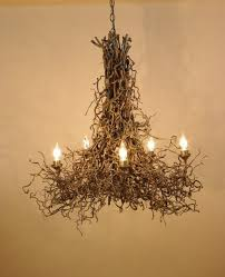 saumur metal 6 branch chandelier in black d 100cm
