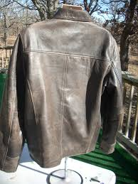 a jacket from indiana from worn out brown to newly re dyed brown