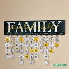birthday calendar wall hanging clever nest family birthday calendar silhouette file