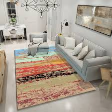 modern abstract large size carpet for living room
