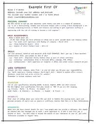 What Should A Resume Include Best High School Resumes Images On