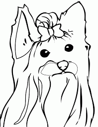Free yorkie puppy coloring pages yorkie coloring pages black and white free printable pages free yorkie puppy coloring #96941. Yorkie Coloring Page Coloring Home