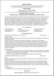 Delivery Driver Resume Example Good Driver Resume Samples With Career Deteails Sample Resumes 8