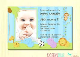 baby first birthday invitation cards baby birthday invitation