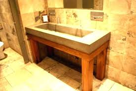 undermount trough bathroom sink elegant trough sink trough sinks for bathrooms trough sink for bathrooms double