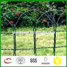 rubber garden edging decorative wrought iron metal bamboo effect plastic lawn landscape fence border de