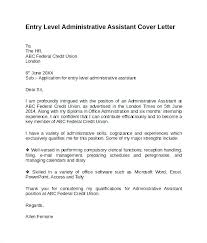 office assistant cover letter administrative assistant cover letter experience entry level no easy