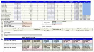 work scheduler excel shift schedule manager microsoft and open office templates