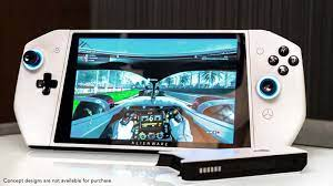Triển lãm chiếc máy chơi game cầm tay đầu tiên của Dell - Alienware UFO