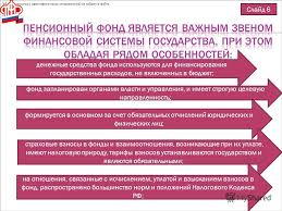 Презентация на тему Курсовая работа по дисциплине Финансы и  6 Слайд 6 фонд