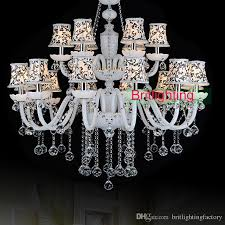 modern hotel hall crystal chandeliers country style living room chandeliers bohemian top glass chandelier lamp 18 lights candle chandelier michigan