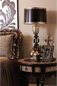 old world style lighting. table lamps: old world bedside rich design dark stain circular echoes tuscan style lighting