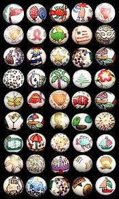 Golf Ball Decorations 60 decorated golf balls wow so much to pick from Best Ball 3