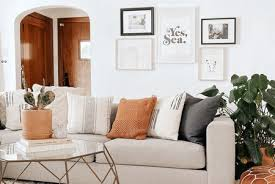 what to hang above a sofa