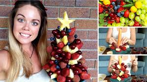 fruit christmas tree. Wonderful Christmas For Fruit Christmas Tree T