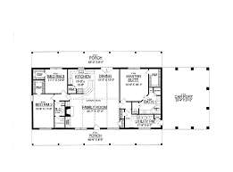 30x50 rectangle house plans | Expansive One-Story I would add a second  story with