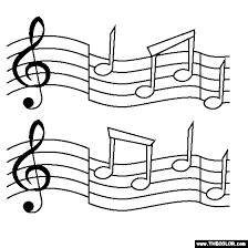 Perfect Music Notes Coloring Pages 60 For Free Colouring Pages