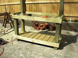 Potting Table Best Potting Bench Plans To Increase Productivity In Gardening