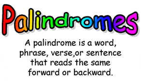 Word Information Search Results For Palindromes