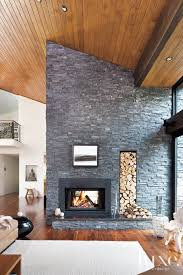 Best Modern Stone Fireplace Ideas Ways To Decorate Your Home For Fall  Stonemodern Fireplacestone Designsconcrete Contemporary ...