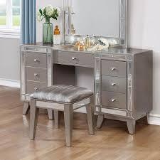 vanity table. Leighton Vanity Desk W/ Stool Table
