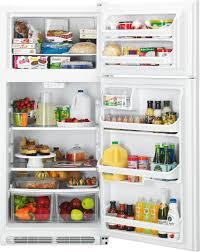 Glass Refrigerator Kenmore 60502 18 Cu Ft Top Freezer Refrigerator W Glass