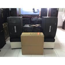 Dàn Karaoke - Nghe nhạc Gia Đình Gồm đôi loa BMB 450 + Âm ly Jaguar PA 203N  + 01 Micro giảm chỉ còn 3,000,000 đ