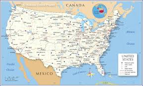 Map of the United States - Nations ...