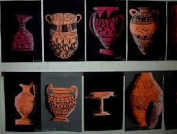 Grecian Pottery Designs Greek Pottery Miss Murphys Art Room