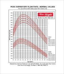 Peak Flow Reading Chart Asthma Peak Flow Chart Pediatric Bedowntowndaytona Com