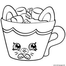 Small Picture Print Cherry Nice Cupcake from shopkins season 6 coloring pages
