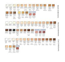 Makeup Forever Colour Chart Makeup Conversion Chart Macswap Org